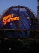 The Planet Hollywod restaurant