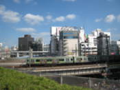 View from Ueno Park
