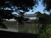 Approaching the Imperial Palace east gardens
