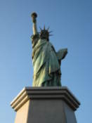 Tokyo's copy of the statue of liberty