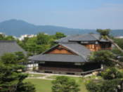 View over some of the Nijo Castle grounds