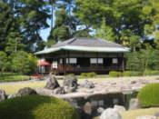 Tea house in the grounds of Nijo Castle