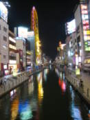 The Dotonbori Canal by night