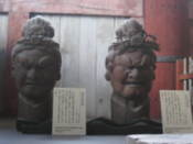 Sculptures inside of Todai Temple