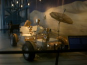Moon buggy (used for testing on earth)