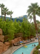 The lazy river at the MGM Grand