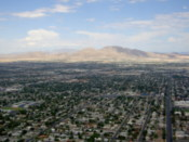 A view from the Stratosphere - 108 stories up