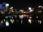 Naka River by night