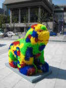 Lion on Gwanghwamun Plaza