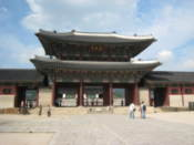 Geunjeongmun gate at Gyeongbokgung Palace