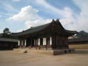 Building at Gyeongbokgung Palace