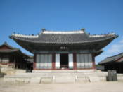 Munjeongjeon Hall at Changgyeonggung Palace