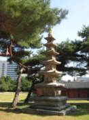 Stone pagoda at Changgyeonggung Palace