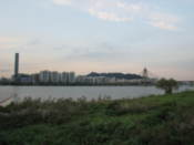 Looking over the Han River