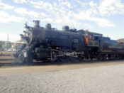 A Grand Canyon Railway steam locomotive