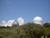 Two of the telescopes