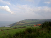 Looking towards Ravenscar
