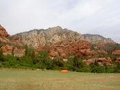 Red Rockfaces