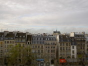 Quaint buildings opposite the Pompidou...