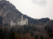 Neuschwanstein from the bottom of the hill