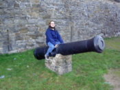 Me on a cannon