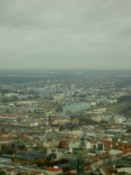 The city viewed from the TV tower