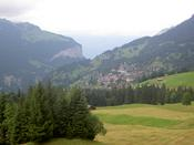 Another view of Wengen from Almend