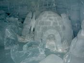 And igloo sculpture