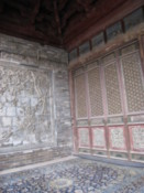 Decoration on the prayer hall