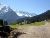 The path to Murren