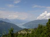 Looking towards lake Brienz