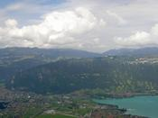 Interlaken and lake Tunn