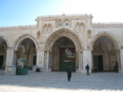 Mosque entrance