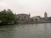 Station and museum from accross the river