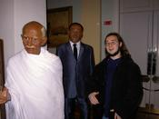 Ghandi, Martin Luther King and me