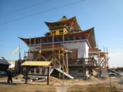 A new temple under construction