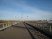 Bridge to Tatishev Island