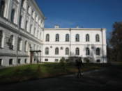 The main university building
