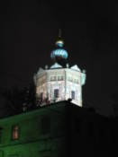 SS Peter and Paul Cathedral by night