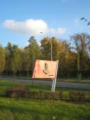 One of many &#34;flags&#34; along the roadside