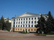 Building on Lenin Square