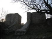 Part of castle ruins