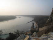 Danube seen from Devin Castle