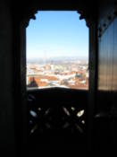 View from the cathedral north tower