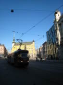 Tram on Freedom Square