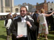 Me with my degree certificate