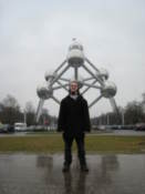 Me with The Atomium