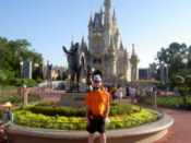 Me by the Walt Disney statue