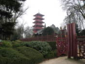 Japanese tower and gardens