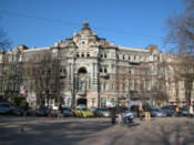 Building opposite Soborna Square